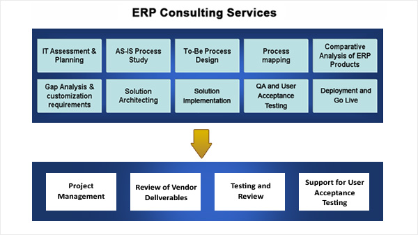 ERP Consulting| ERP Advisory Process
