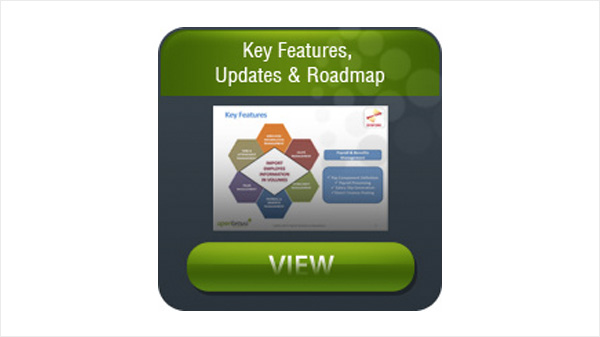 Openbravo HR & Payroll Module Key Features